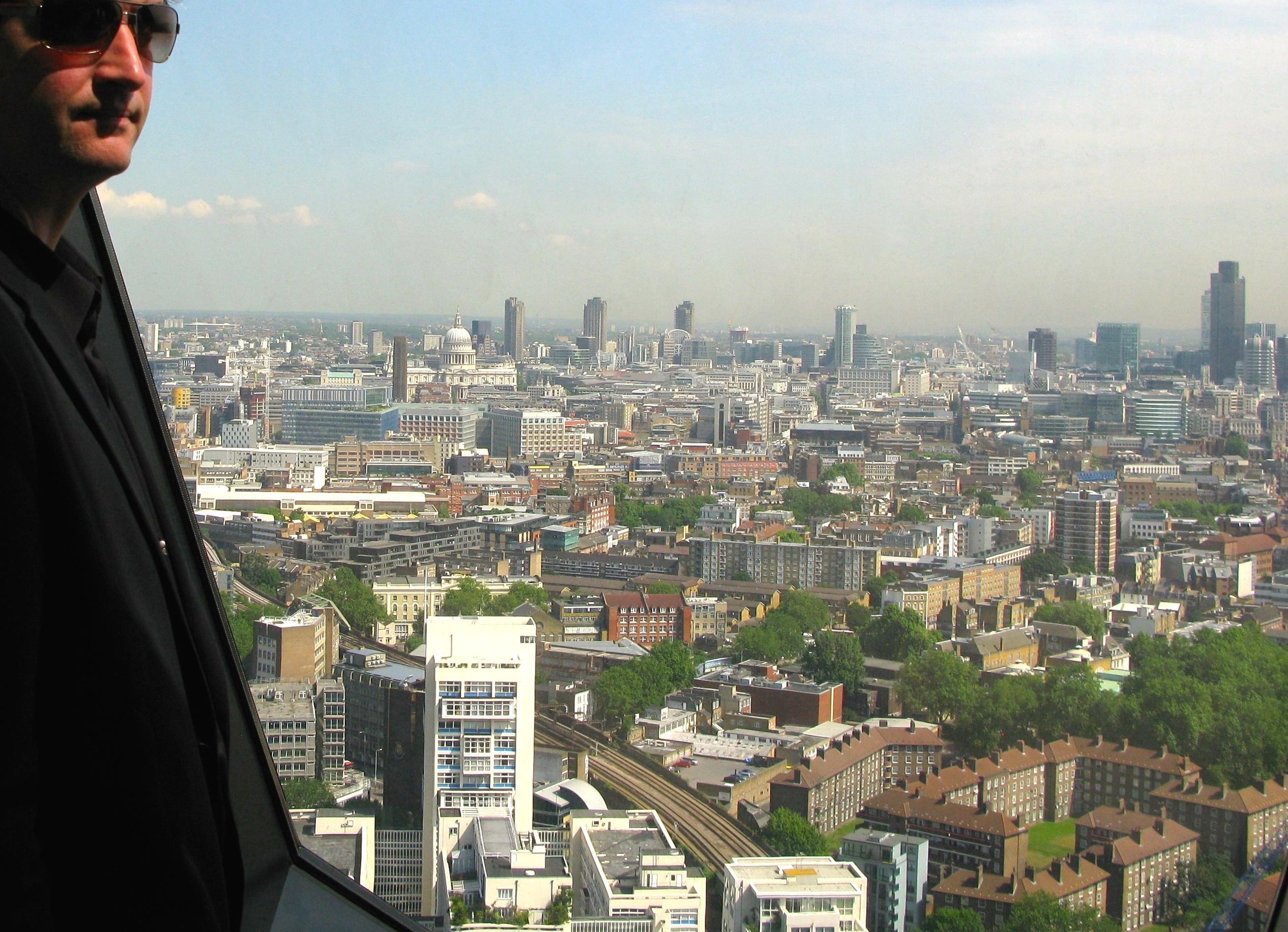 Architect surveys London (© Paul Coleman, London Intelligence 2010)