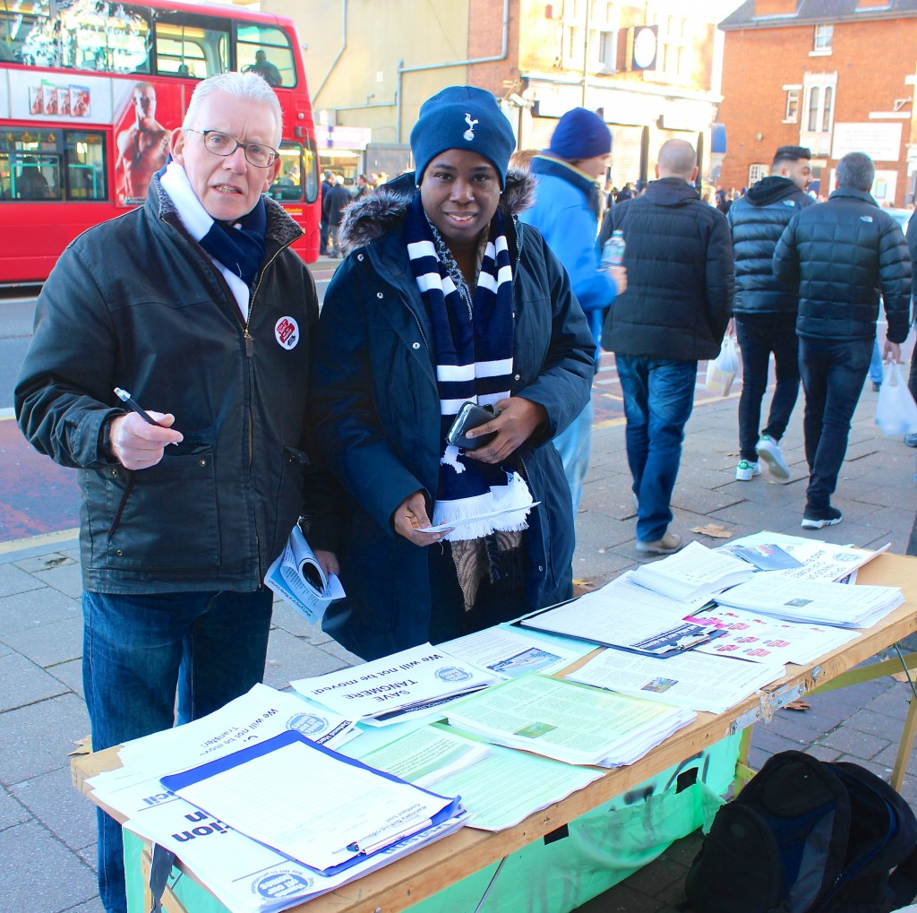 Spurs fans sign petition against their own club's 'regeneration' plan (© London Intelligence 2014)