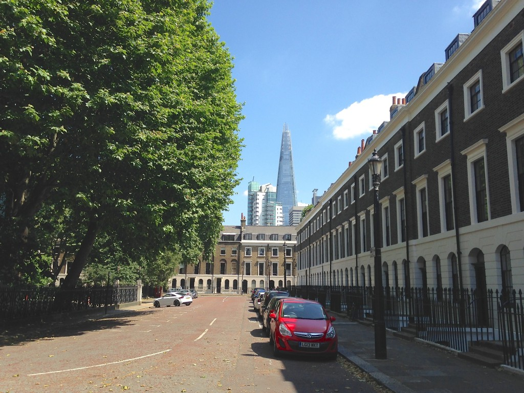 Trinity Church Square in south London © London Intelligence 2014