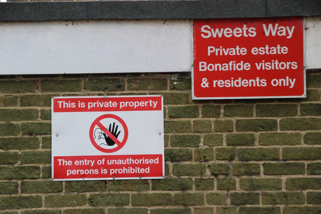 Sweets Way now covered by an injunction © London Intelligence 2015