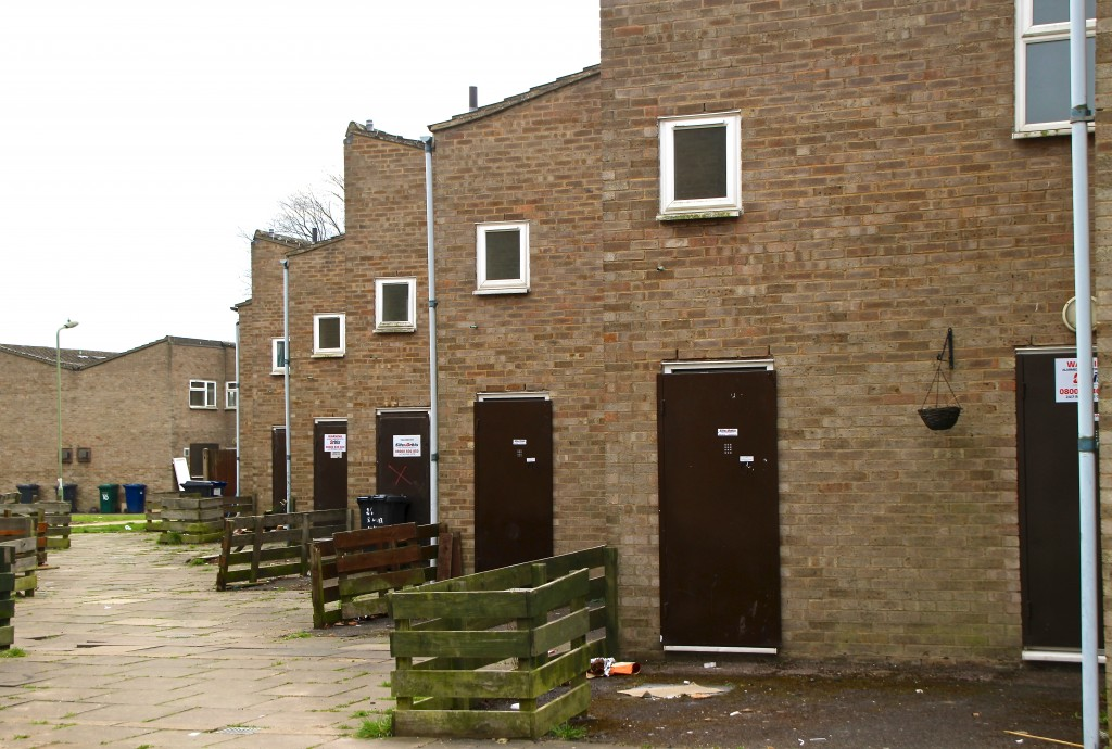 'Tinned' homes on Sweets Way Estate © London Intelligence 2015