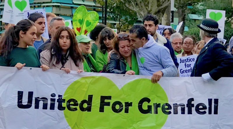 15th Grenfell Silent March © London Intelligence 2018